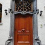 eiken voordeur na renovatie