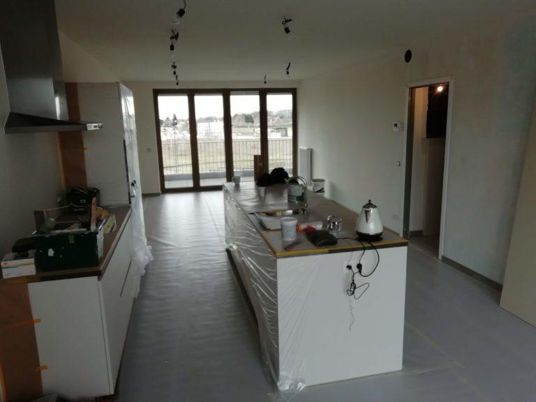 geverfde keuken